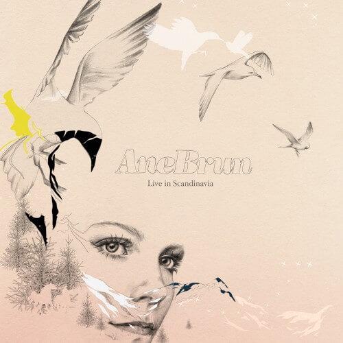 Ane Brun - Live in Scandinavia - Album Cove